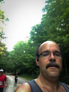 Carlos Candelaria at Umstead Half Trails