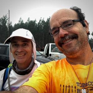Walter and Carlos Candelaria at Derby 50k 2020