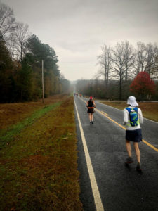 Walter, Carlos Candelaria and other runners at Derby 50k 2020