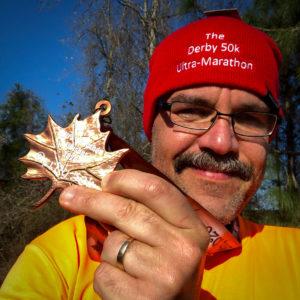 Derby 50k medal Carlos Candelaria