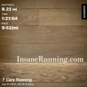 Insane Running garmin miles