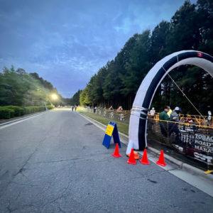 2021 Tobacco Road Half Marathon Start Line